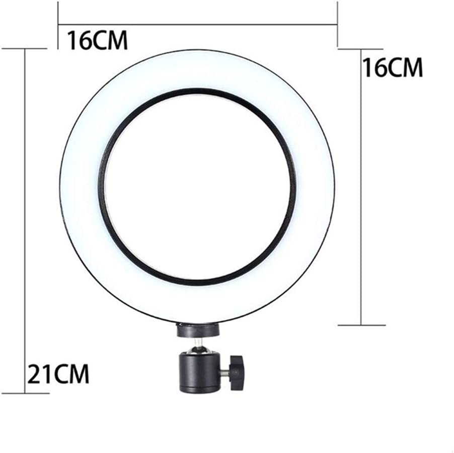 YAYONG LED Selfie Ring Light Stepless Lighting Dimmable Fill Light Lamp USB for Streaming Camera Video 500//1600//2100mm Stand
