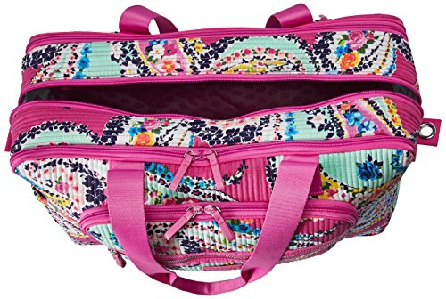 Vera Bradley Iconic Deluxe Weekender Travel Bag, Signature Cotton by Vera Bradley (Image #5)