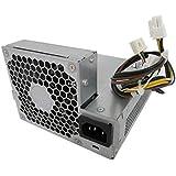 HP Power Supply 503375-001 240W Pro 6000 6005 6200 Elite 8000 8100 8200 SFF 1-3D (Renewed)