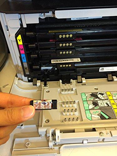 Super Easy Drum Reset Chip for STARTER DRUM on Samsung CLP 360 365 CLX 3300 3305 Printer models (Drum unit number : CLT-R406) by EASY RESET (Image #1)