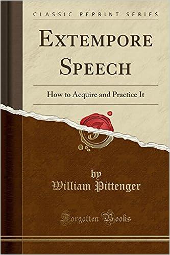 sample extempore speech