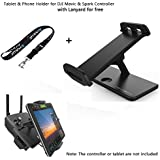 Joint Vcitory Foldable Bracket Extender 4.7-12.9 Inches Tablet Stander Mobile Phone Stand Holder with Lanyard for DJI Mavic and DJI Spark Remote Controller (Holder3)