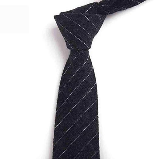 Hjyi Corbata de algodón para Hombres, Accesorios de Rayas, Corbata ...
