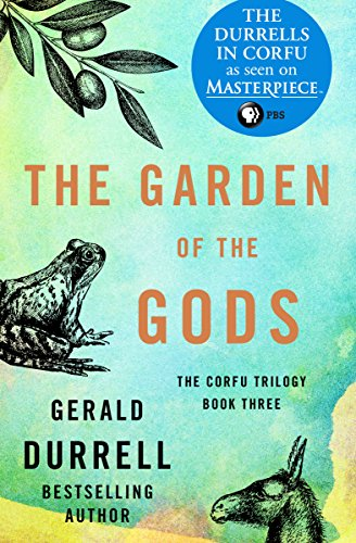 The Garden of the Gods (The Corfu Trilogy Book 3) cover