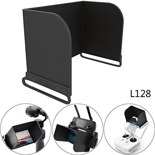 Price comparison product image PGYTECH 5.5inch FPV Phone Monitor Sun Hood Screen Sunshade Cover for DJI Mavic Air / Pro / Platinum, Spark, Tello, Phantom, Inspire, OSMO, M600 Remote Controller - for iPhone and Samsung Galaxy