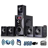 New BLUETOOTH BeFree SOUND BFS425 5.1 CHANNEL SURROUND SOUND SPEAKER SYSTEM in BLACK