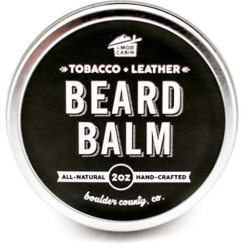Tobacco Leather Beard Balm Natural product image