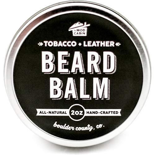 Tobacco Leather Beard Balm Natural