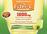 Ester-C Effervescent 1000mg Plus Electrolytes, 1000mg, 21 Packets – Lemon Lime Review