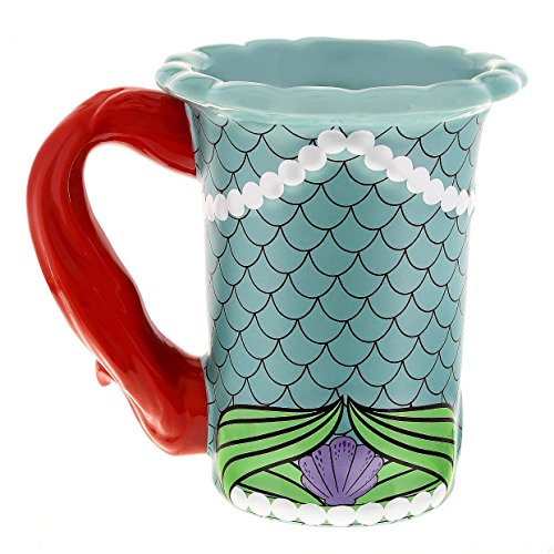 Disney Parks Ariel Little Mermaid Dress Ceramic Mug