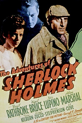 Odsan Gallery The Adventures Of Sherlock Holmes, Basil Rathbone, 1939 - Premium Movie Poster Reprint 16