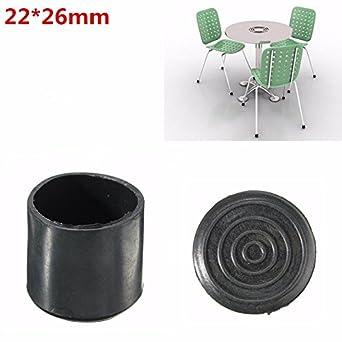 Yongse Schwarzer Stuhl Ferrulen Möbel Beinschutz Gummi Amazonde