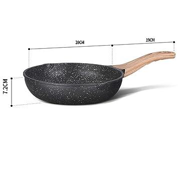 YJLGRYF Sartenes Para Bistec, Cocina De Inducción, Estufa De Uso General Cacerolas (Tamaño
