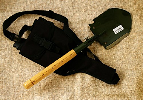Chinese Military Shovel Emergency Tools WJQ 308 Ver 2012 with Original Waterproof Cases Bag Kit