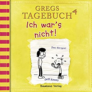 Ich war's nicht! (Gregs Tagebuch 4) Hörspiel