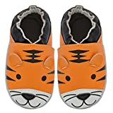 Momo Baby Boys Soft Sole Leather Shoes - Airplane
