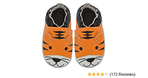 from 6 months Crawling Shoes Tiger