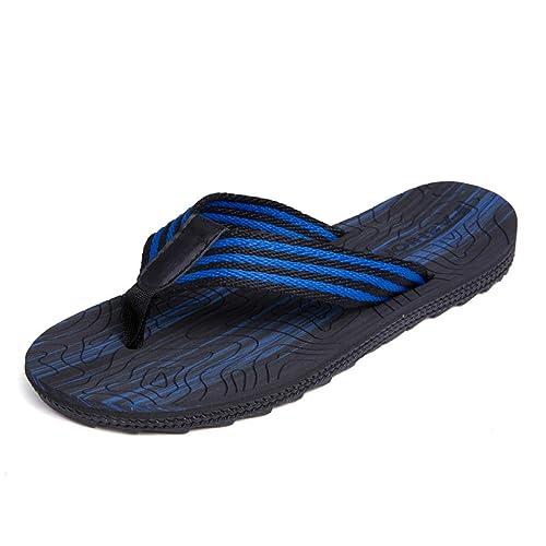 Chancletas Zapatillas de Playa de Verano para Hombres Zapatillas Antideslizantes de Fondo Suave Zapatillas para Parejas
