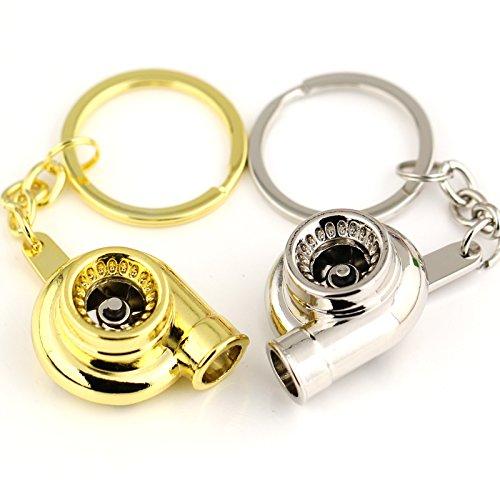 Maycom Creative Fashion Romantic Couple Keychain Key Chain Ring Keyring Key Fob (Turbo)