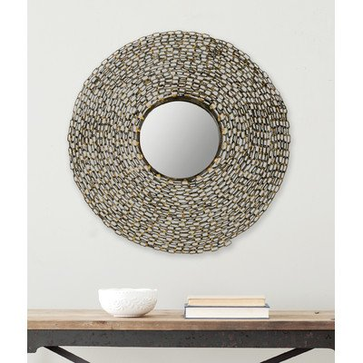Safavieh Home Collection Jeweled Chain Mirror, Natural - Urban Living Collection Mirror