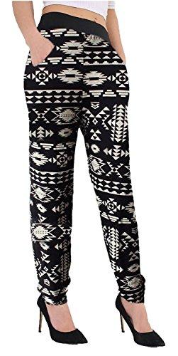 Pantalon Plus 36 54 Nouveau Pantalons Baba Taille Harem Ali Chocolate Impression Dye Femmes Aztec Tyedye Pickle® Tie 7nx6q6O4p
