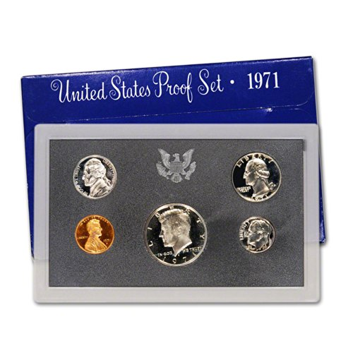 1971 S US Proof Set Original Government Packaging ()