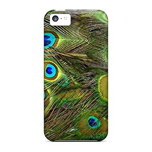 BeverlyVargo Perfect Cases For Iphone 5c/ Anti-scratch Protector Cases (peacock Feathers)