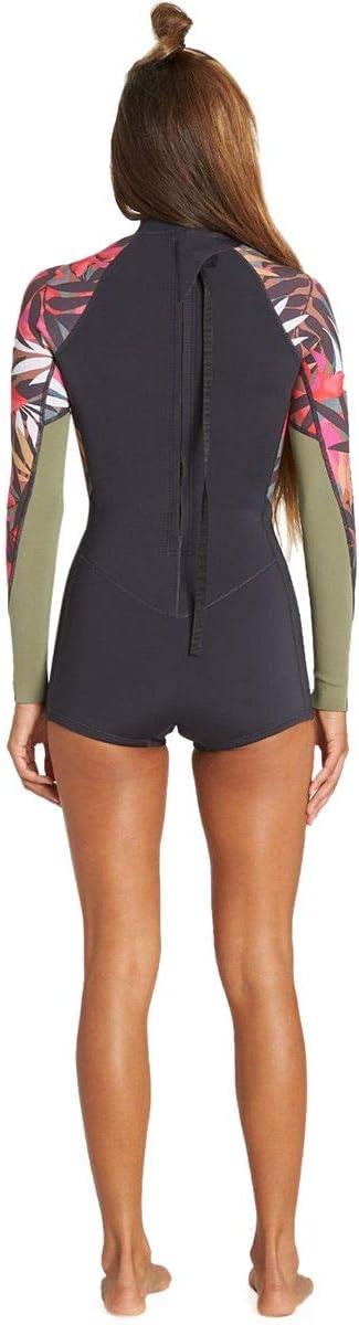 Billabong 2mm Springsuit Fever Womens Shorty Wetsuits