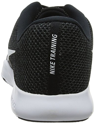 W Anthracite Flex 001 8 Women's Nike White Black Fitness Trainer Black White Shoes HvwZE5qWA