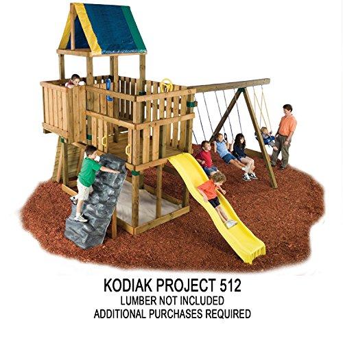 032866050103 - Kodiak Custom Play Set Hardware Kit (wood not included) carousel main 3