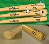 Brand NEW 2017 Onslaught Bamboo Baseball Bat (Model 271) 34 inch 31 OZ (-3) by Vikram Sports at Factory Direct Price