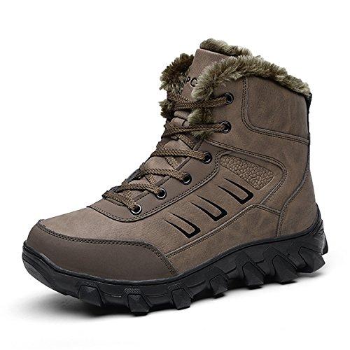 Barerun Winter Warm Outdoor An-slip Water proof Snow Boot Shoes