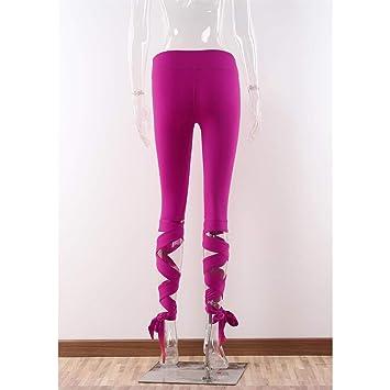 XYACM Pantalones de Yoga Ropa Mujeres Tipo de Herida Fitness ...