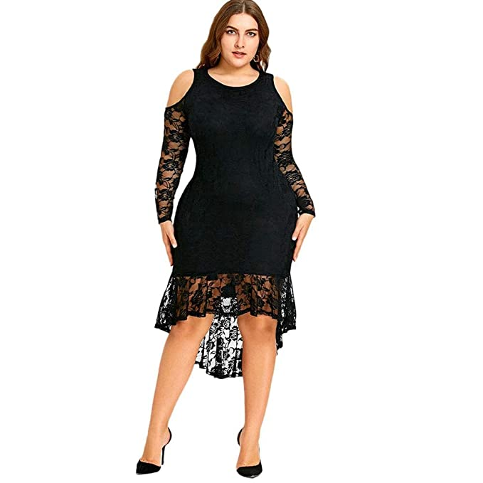 Amazon.com: Vestidos Tallas Grandes Plus Size Largos de ...