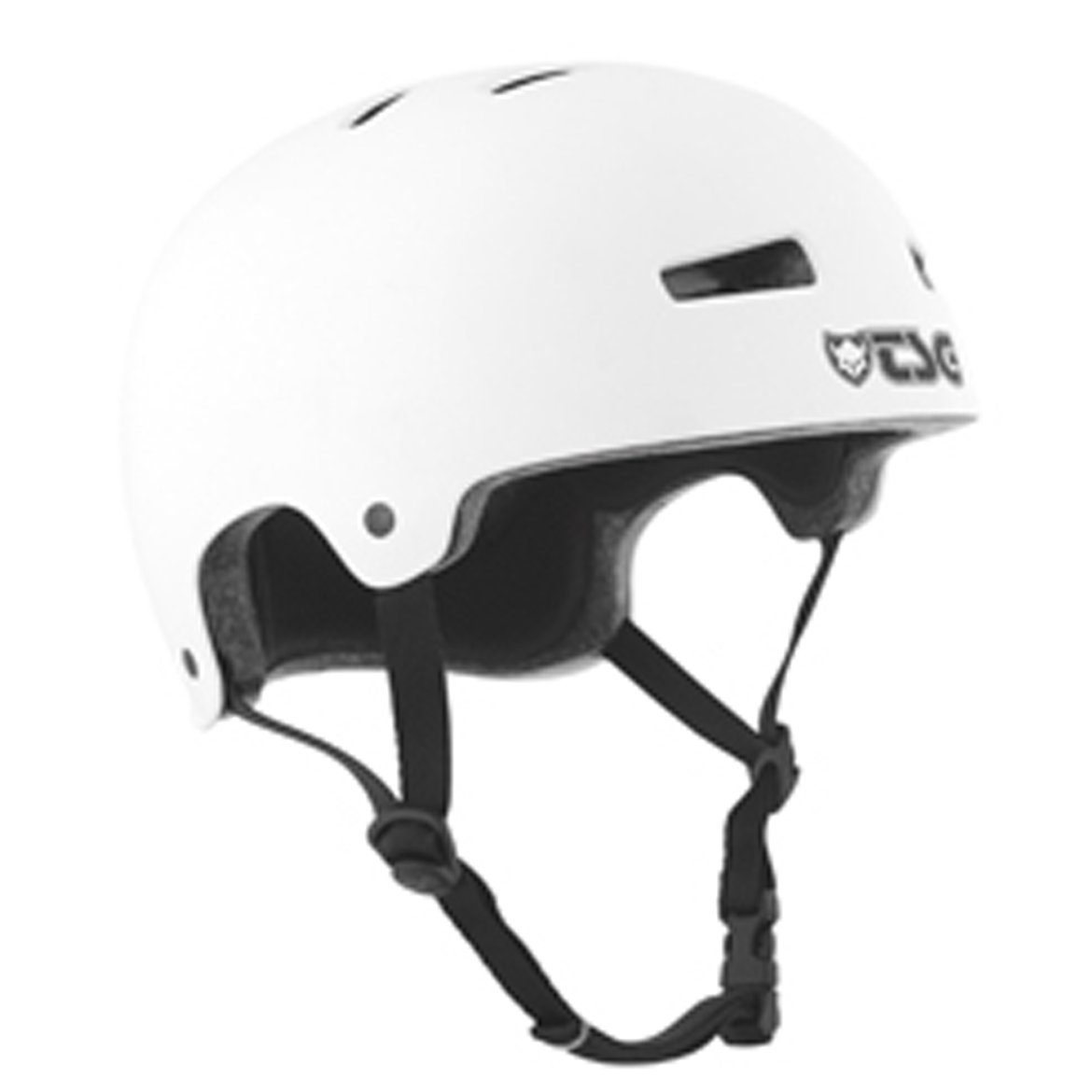 TSG Evolution Solid Series Helmet (Flat White, Large/X-Large) by TSG