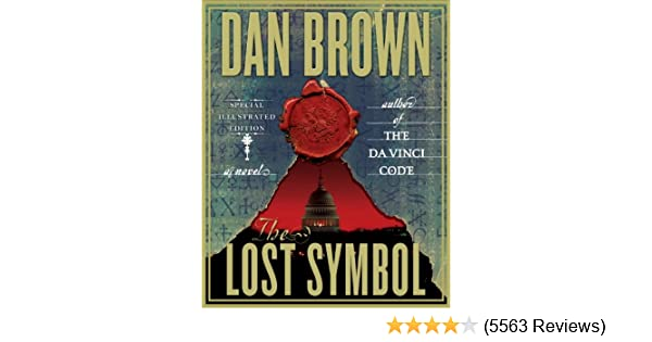 Amazon The Lost Symbol Special Illustrated Edition A Novel