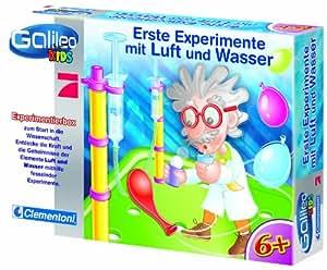 Clementoni 69717.5 - Los primeros experimentos con el aire y el agua [Importado de Alemania]