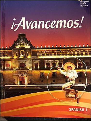 Avancemos student edition level 1 2018 spanish edition avancemos student edition level 1 2018 spanish edition spanish student edition fandeluxe Choice Image