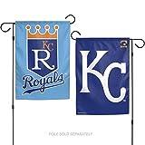 Stockdale Kansas City Royals RETRO WC GARDEN FLAG Premium 2-sided Outdoor House Banner Baseball