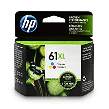 HP 61XL Tri-colour High Yield Original Ink Cartridge (CH564WN)