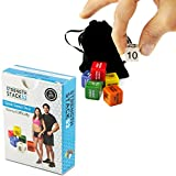Fitness Dice by Strength Stack 52. Bodyweight Exercise Workout Game. Designed by a Military Fitness Expert. Video Instructions Included. No Equipment Needed. Burn Fat and Build Muscle at Home.