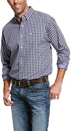 ARIAT Men`s Wrinkle Resistant Valent Classic Fit Shirt