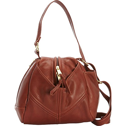 Leather Victoria Droplet Victoria Crossbody Cognac Leather Droplet F6wxHqtw4