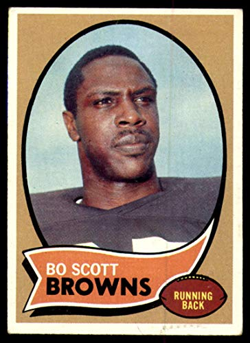 Football NFL 1970 Topps #117 Bo Scott EX Excellent RC Rookie Browns