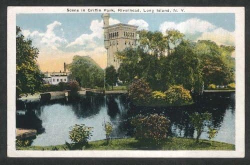 Amazon Com Scene In Griffin Park Riverhead Long Island Ny Postcard 1920s Entertainment Collectibles