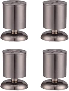 Furniture feet & ndash; 4 easy to install adjustable sofa legs for bed and furniture tables, sofa, home DIY projects + home bonus rubber floor protectors