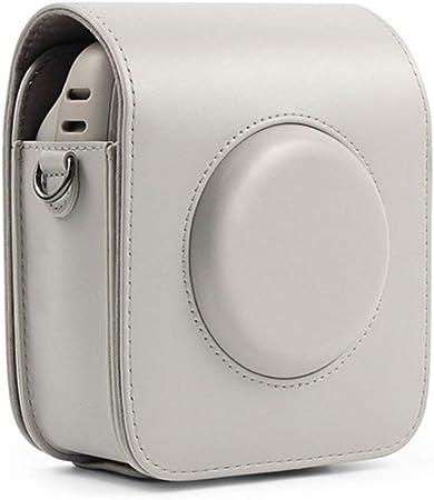 Soft PU Leather Bag with Adjustable Shoulder Strap Phetium Protective Case for Fujifilm Instax Square SQ1 Instant Film Camera Black