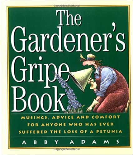 Book The Gardener's Gripe Book