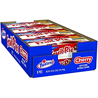 Hostess Fruit Pie, Cherry, 4.5 Ounce, 8 Count - SET OF 4
