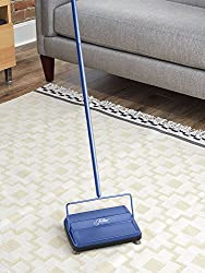 Fuller Carpet Sweeper Electrostatic Floor Cleaner - Blue